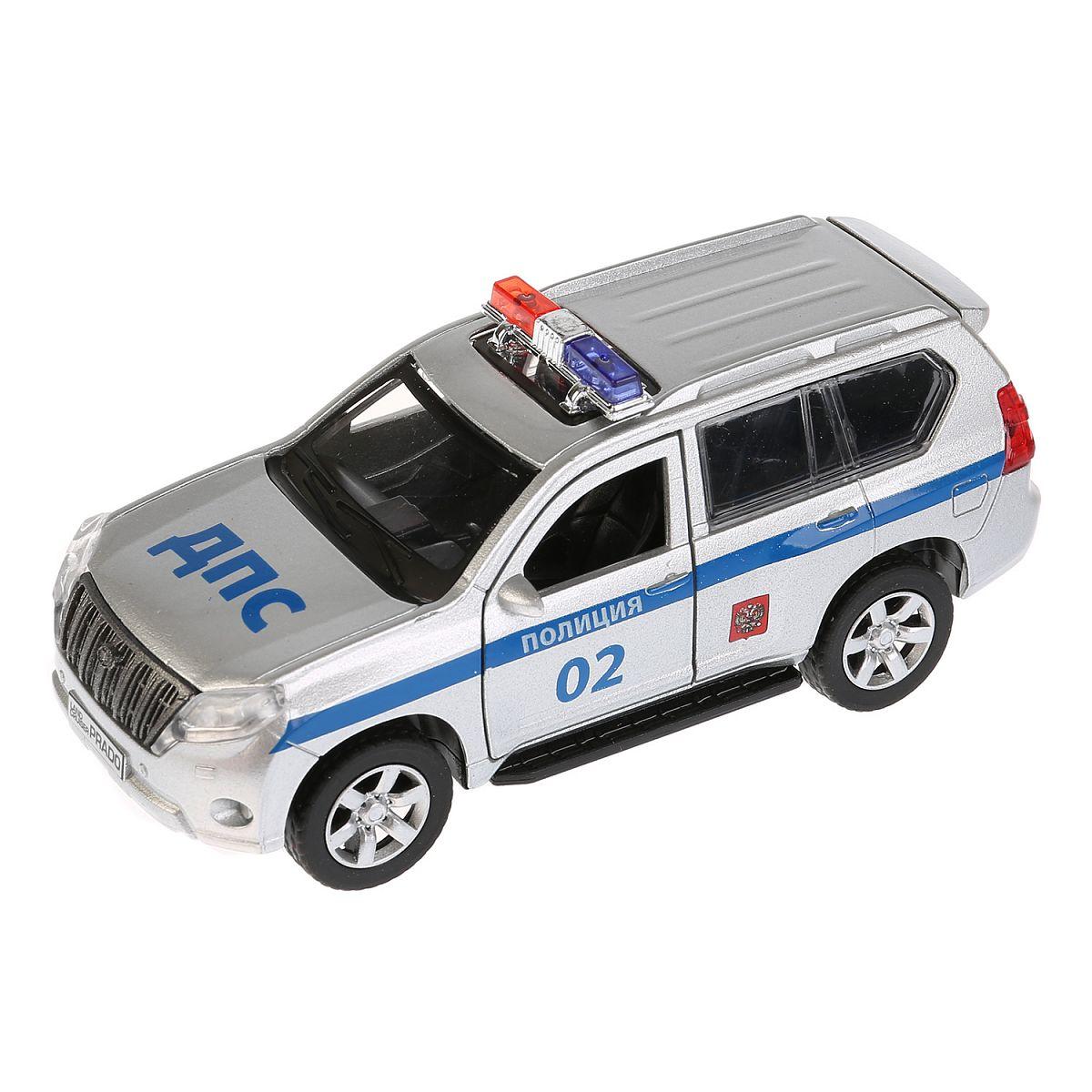 b960b2cad69c Машина Технопарк Toyota Prado полиция - купить в Москве: цены в интернет- магазине Кораблик