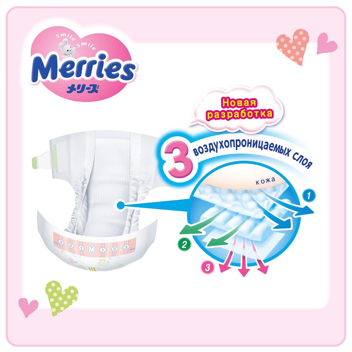 Подгузники Merries XL (12-20 кг) 44 шт - купить в Москве  цены в ... d04b93251e9